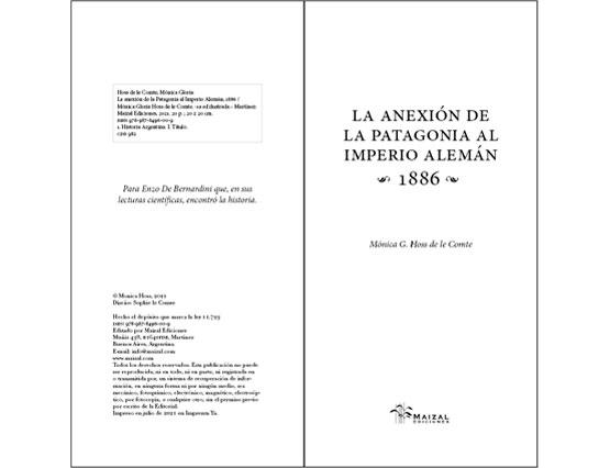 La anexión de la Patagonia al Imperio Alemán