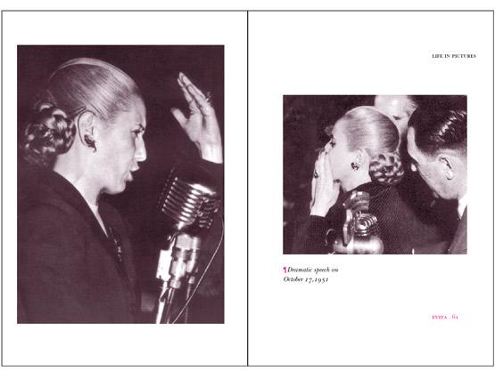 Evita Life & Images