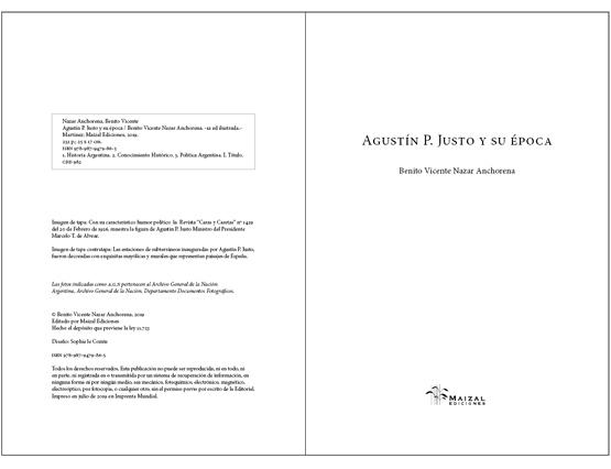 Agustín P. Justo y su época