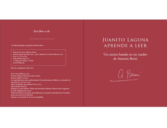 Juanito Laguna aprende a leer (Antonio Berni)