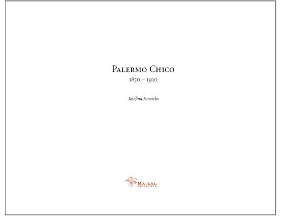 Palermo Chico 1850–1910