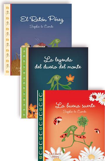 Pack de 3 libros - Cuentos para leer y soñar