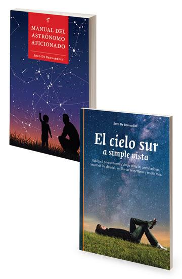 Promo Manual del Astrónomo Aficionado + Cielo Sur a Simple Vista